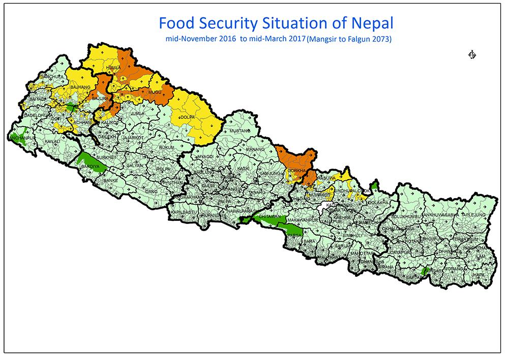 नेपाल को नक्सा